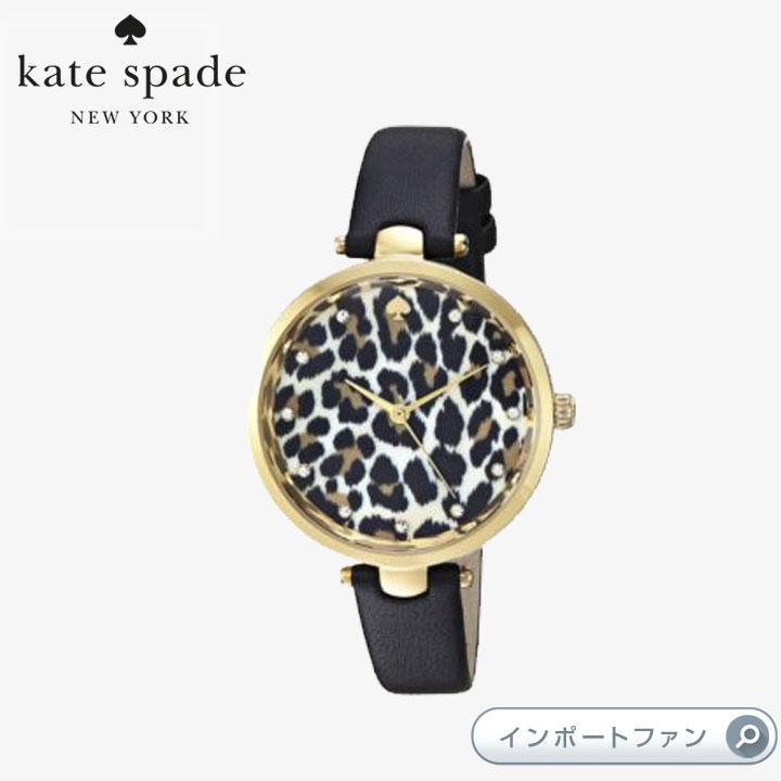 Kate Spade ケイトスペード レオパード ホーランド ウォッチ 腕時計 Leopard Holland Watch □
