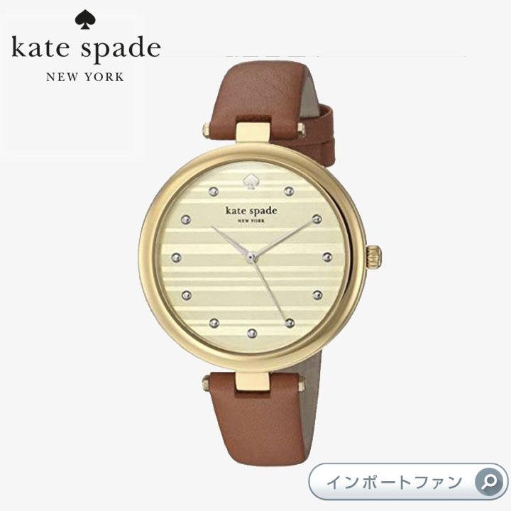 Kate Spade ケイトスペード ヴァリック レザー ストラップ ウォッチ 腕時計 Varick Leather Strap Watch □
