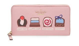Kate Spade ケイトスペード チェダーストリート チョコレート レーシー Cedar Street Chocolates Lacey 長財布 チョコレート 正規品 【ポイント最大43倍!お買物マラソン】
