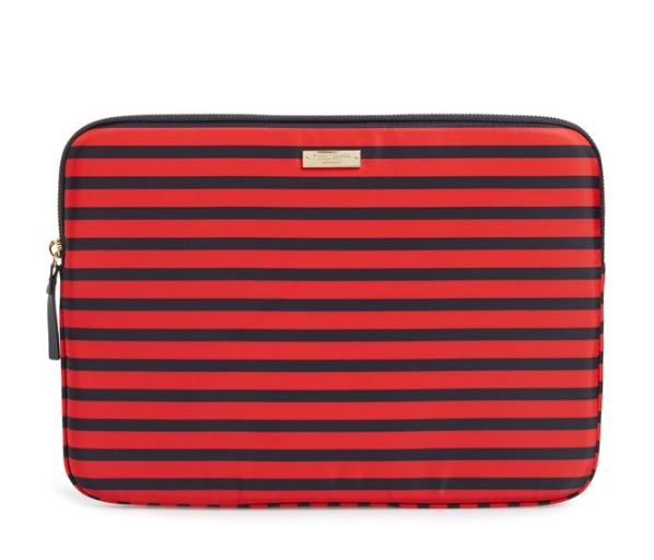 Kate Spade ケイトスペード ストライプ ラップトップ スリーブ 13インチ stripe laptop sleeve 13 inch 正規品 【ポイント最大43倍!お買物マラソン】