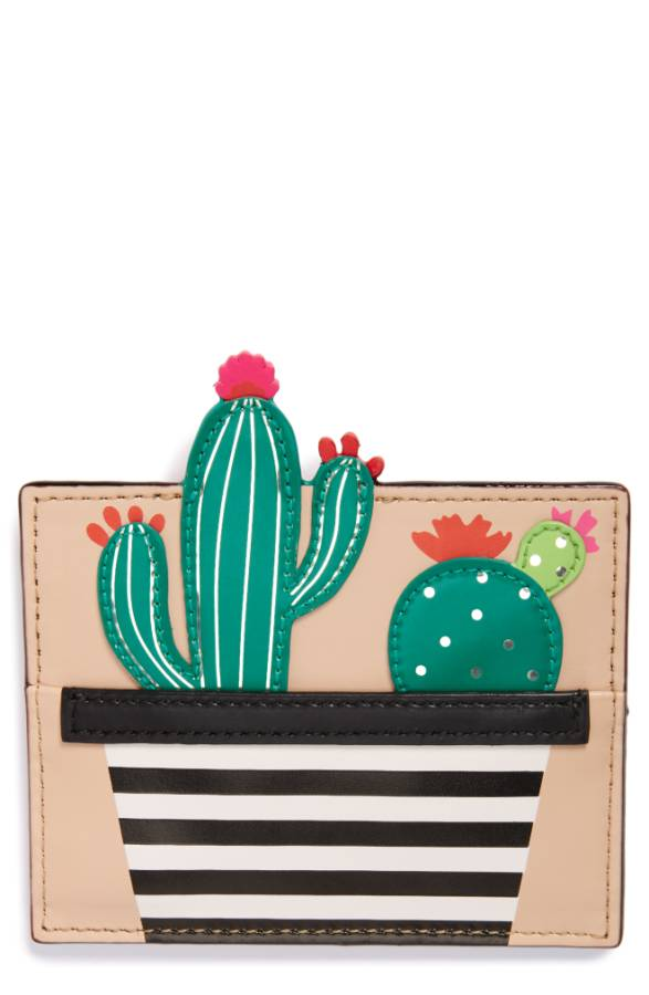 Kate Spade ケイトスペード シーニック ルート カクタス カードホルダー カードケース Scenic Route Cactus Card Holder 正規品【ポイント最大43倍!お買物マラソン】