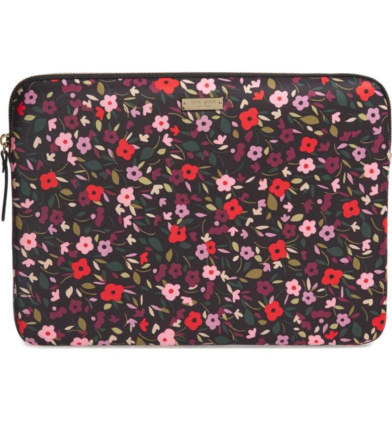 Kate Spade ケイトスペード ボーホー フローラル 13インチ ラップトップ ケース スリーブ Boho Floral 13-inch Laptop Sleeve 正規品【ポイント最大42倍!お買物マラソン】