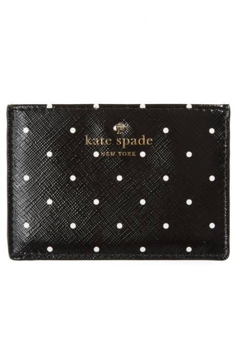 Kate Spade ケイトスペード ブルックス ドライブ カードケース 水玉 Brooks Drive Card Holder 増税前ラスト!スーパーセール