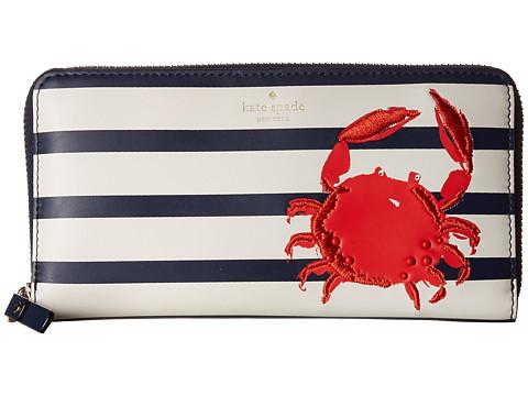Kate Spade ケイトスペード ショア シング クラブ レイシー 長財布 Shore Thing Crab Lacey □