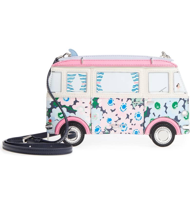 Kate Spade ケイトスペード カリフォルニア ドリーミング サーフ 3D バン クロスボディバッグ California Dreaming Surf 3D Van 【ポイント最大43倍!お買物マラソン】
