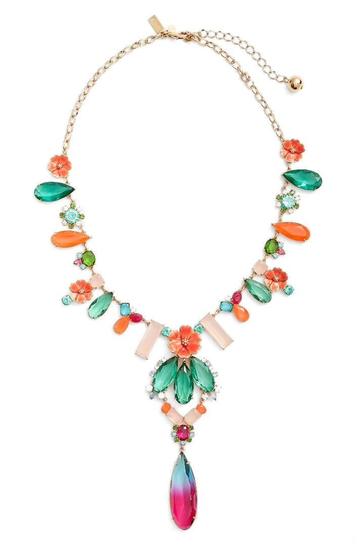 Kate Spade ケイトスペード ガーデン パーティ ステートメント ネックレス Garden Party Statement Necklace 正規品【ポイント最大43倍!お買物マラソン】