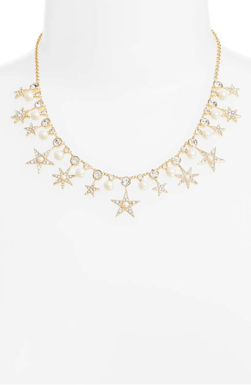 Kate Spade ケイトスペード シーイング スター カラー ネックレス Seeing Stars Collar Necklace 正規品□
