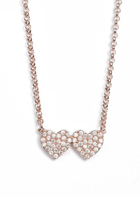 Kate Spade ケイトスペード ユアーズ トゥルーリー パヴェ ハート ネックレス Yours Truly Pave Heart Necklace 正規品【ポイント最大43倍!お買物マラソン】