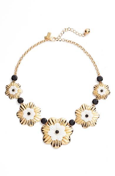 Kate Spade ケイトスペード ポジー グローブ カラー ネックレス Posy Grove Collar Necklace 正規品【ポイント最大43倍!お買物マラソン】