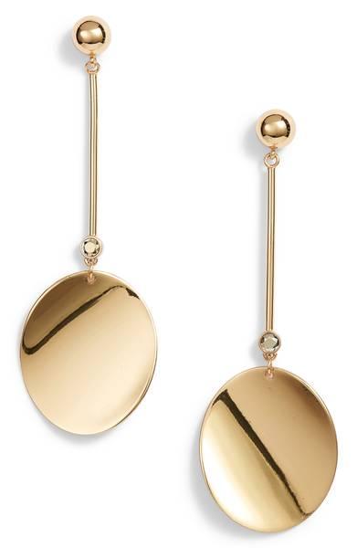 Kate Spade ケイトスペード ゴールド スタンダード ライナー ピアス Gold Standard Linear Earrings 【ポイント最大43倍!お買物マラソン】