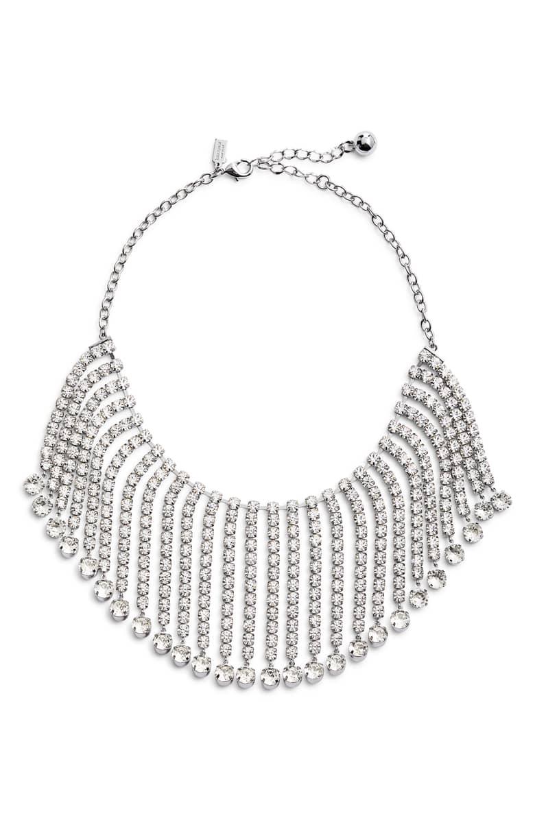 Kate Spade ケイトスペード クリスタル フリンジ カラー ネックレス Crystal Fringe Collar Necklace 【ポイント最大43倍!お買物マラソン】