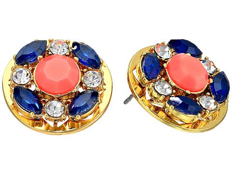 Kate Spade ケイトスペード ジュエル タイル スタッズ ピアス Jeweled Tile Studs Earrings 正規品□