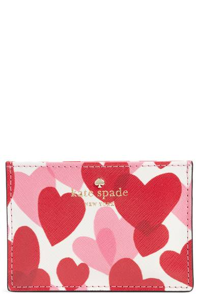 Kate Spade ケイトスペード ユアーズ トゥルリー フェイク レザー カード ケース Yours Truly Faux Leather Card Case 正規品【ポイント最大42倍!お買物マラソン】