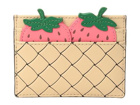 Kate Spade ケイトスペード ピクニック パーフェクト ストロベリー カード ホルダー カードケース Picnic Perfect Strawberry Card Holder 増税前ラスト!スーパーセール