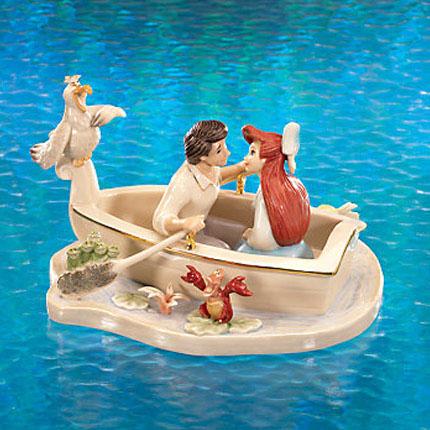レノックス  LENOX リトルマーメイド Moonlight Kiss Little Mermaid Sculpture ムーンライト・キス リトルマーメイド 404271 【ポイント最大43倍!お買物マラソン】