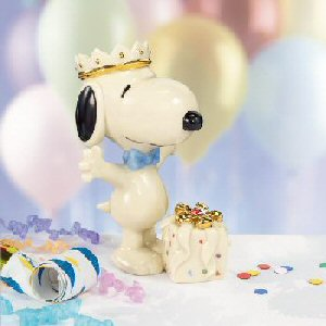 レノックス  LENOX スヌーピーのバースディーサプライズ Snoopy's Birthday Surprise □