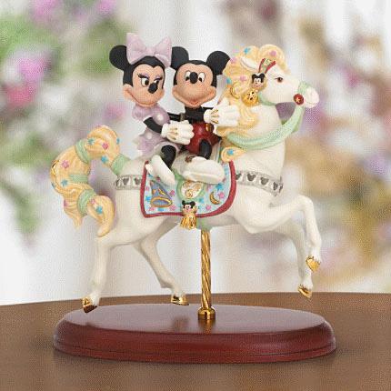 レノックス  LENOX ミッキー&ミニー カルーセル ロマンス Mickey's Carousel Romance ディズニー ミッキーマウス 【ポイント最大42倍!お買物マラソン】