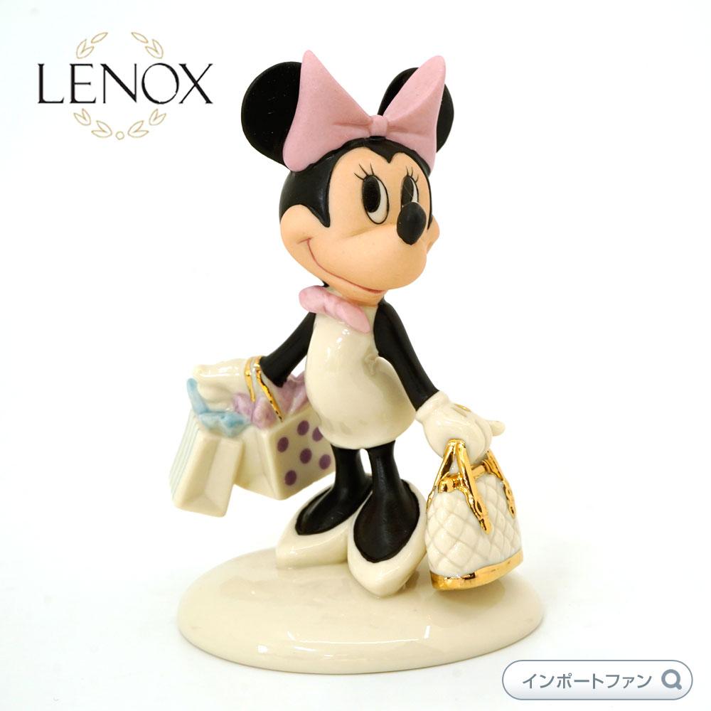 レノックス ミニーマウス ショッピング ミッキー&フレンズLENOX Minnie's Shopping Spree 802883 【ポイント最大43倍!お買物マラソン】