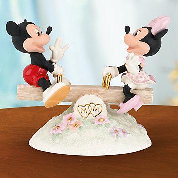 レノックス ミッキー&ミニー  真実の愛のシーソー LENOX Mickey Sees True Love 806461 □
