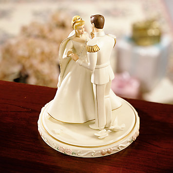 レノックス シンデレラの結婚式の日 シンデレラと王子 ウエディングケーキトップ LENOX Cinderella's Wedding Day Cake Topper ディズニー 【ポイント最大43倍!お買物マラソン】