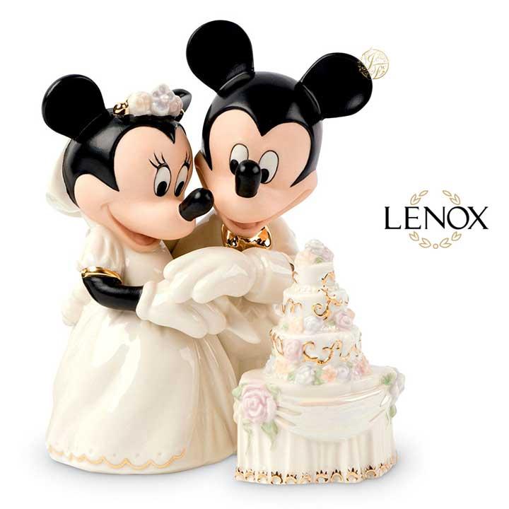 レノックス ミニー&ミッキー 夢のウエディング LENOX Disney Minnie's Dream Wedding 790432 ディズニー ミッキーマウス ミニーマウス 結婚式 【ポイント最大43倍!お買物マラソン】