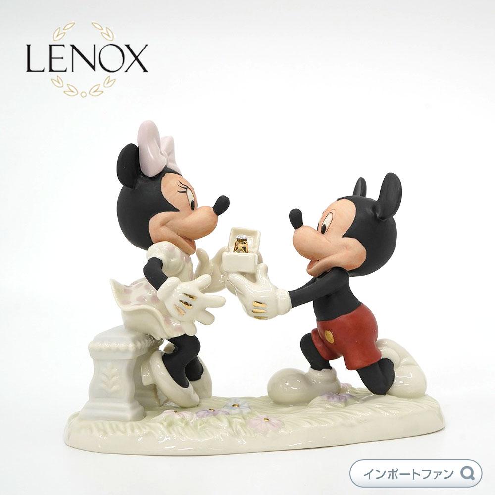 レノックス ミッキー&ミニー プロポーズ LENOX Mickey and Minnie Proposal ディズニー ミッキーマウス ミニーマウス 【ポイント最大43倍!お買物マラソン】