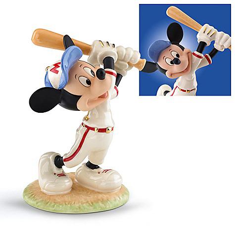 レノックス ミッキーマウス バッター 野球 LENOX Mickey Up at Bat ディズニー ミッキー □