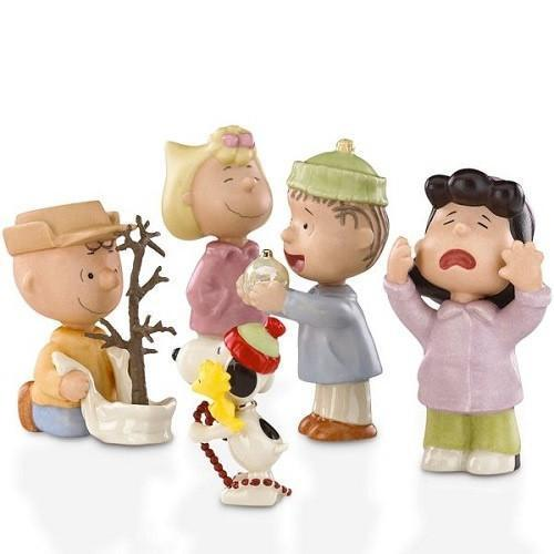【マラソン限定2%オフクーポン】レノックス LENOX チャーリー・ブラウンとスヌーピーのクリスマス 5点セット 818358 That's What Christmas Is All About Charlie Brown, 5 Piece Set スヌーピー □