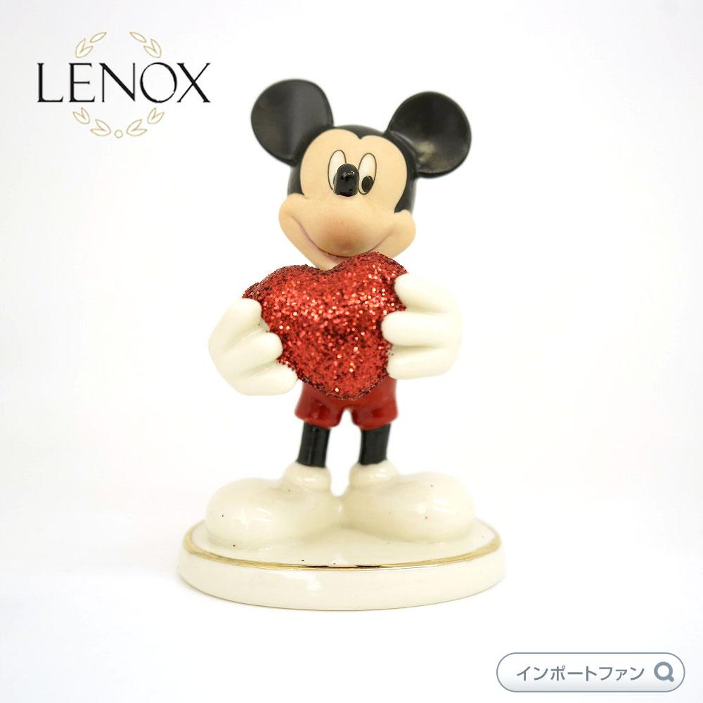 レノックス 恋するミッキー ハート LENOX Love Struck ディズニー ミッキーマウス 【ポイント最大43倍!お買い物マラソン セール】