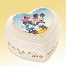 レノックス  LENOX  ミッキー&ミニー スイートロマンスキープセイクボックス  Disney Mickey and Minnie Sweet Romance Keepsake Box ディズニー ミニーマウス 【ポイント最大43倍!お買物マラソン】