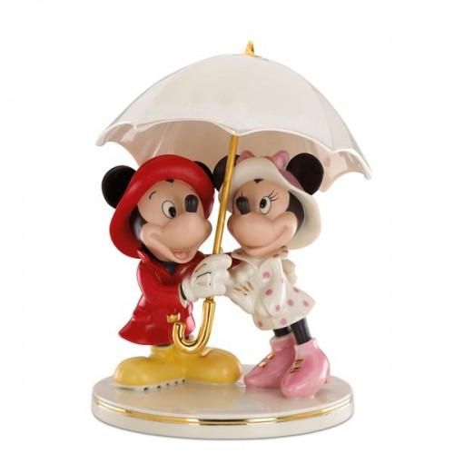 レノックス ミッキー&ミニー 雨に唄えば LENOX Mickey and Minnie Singing in the Rain ディズニー ミッキーマウス ミニーマウス 相合傘 【ポイント最大43倍!お買物マラソン】