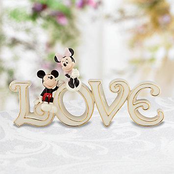 レノックス  LENOX ミッキー&ミニーマウス トゥルーラブ Classics Mickey and Minnie True Love ディズニー ミッキーマウス 【ポイント最大43倍!お買い物マラソン セール】