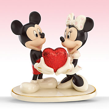 レノックス  LENOX ミッキー&ミニーマウス 永遠の恋人達 Classics Sweethearts Forever  ディズニー ミッキーマウス 【ポイント最大43倍!お買物マラソン】