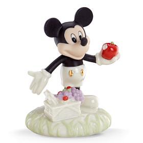 レノックス ミッキー ピクニック リンゴ LENOX Disney A Picnic with Mickey Sculpture ディズニー ミッキーマウス 【ポイント最大43倍!お買物マラソン】