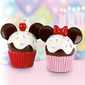 レノックス  LENOX  ミッキー&ミニー カップケーキ ソルト&ペッパーセット  Disney Mickey & Minnie Cupcake Salt & Pepper Set ディズニー ミッキーマウス 【ポイント最大43倍!お買物マラソン】