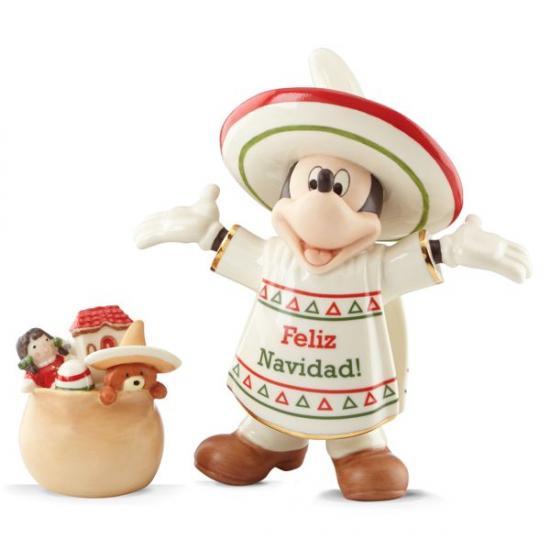 レノックス LENOX ミッキー メリークリスマス Disney Feliz Navidad Mickey ディズニー ミッキーマウス 【ポイント最大43倍!お買物マラソン】