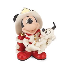 レノックス  LENOX  ミッキー 消防士 Disney Mickey Fire Chief ディズニー ミッキーマウス 【ポイント最大43倍!お買物マラソン】