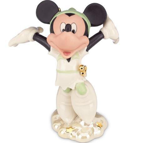 レノックス ミッキーマウス ピーターパンのミッキー ディズニー 843566 Disney's Peter Pan Mickey Figurine LENOX □