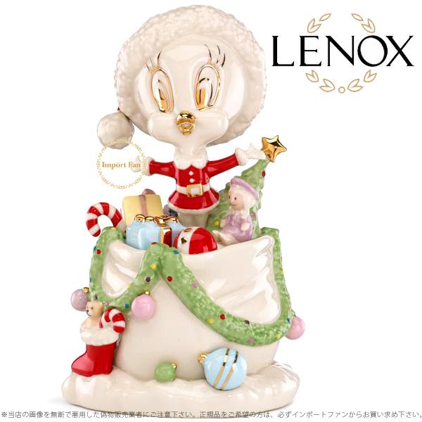 レノックス トゥイティー ホリデー ギフト ガロア 850230a LENOX TWEETY's Holiday Gifts Galore 【ポイント最大43倍!お買物マラソン】