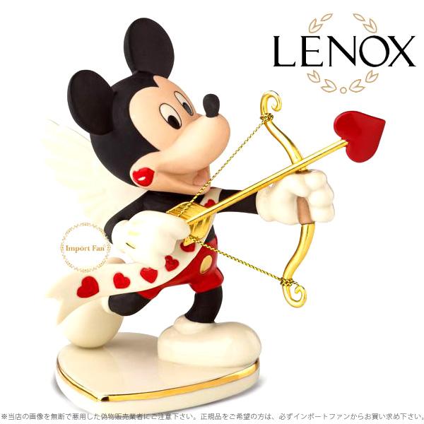 レノックス ディズニー ミッキー ミッキーマウス バレンタイン フォーユー 852409 ハートの矢 LENOX Disney's Mickey's Valentine For You 【ポイント最大43倍!お買物マラソン】