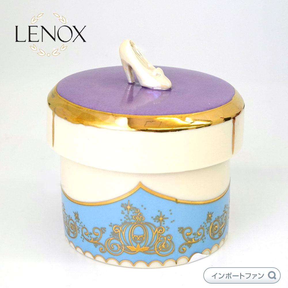 レノックス シンデレラ ガラスの靴 記念品箱 ディズニー 853392 Disney's Cinderella Keepsake Box LENOX □