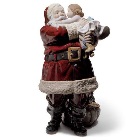 リヤドロ 幸せを届けに 01001960 LLADRO クリスマス サンタクロース 【ポイント最大43倍!お買物マラソン】