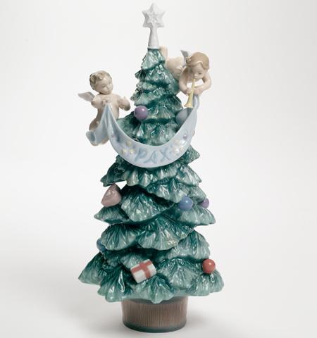 リヤドロ 天使からのプレゼント クリスマスツリー 01008403 LLADRO 【ポイント最大43倍!お買物マラソン】