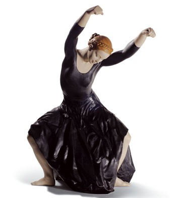 リヤドロ ダンス魂 (ブラック) LLADRO 01008609 日本未発売 500体限定 【ポイント最大43倍!お買物マラソン】