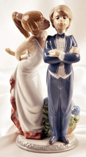 リヤドロ すてきよ! 01005555 LLADRO ブライダルギフトや結婚祝いに 【ポイント最大43倍!お買物マラソン】