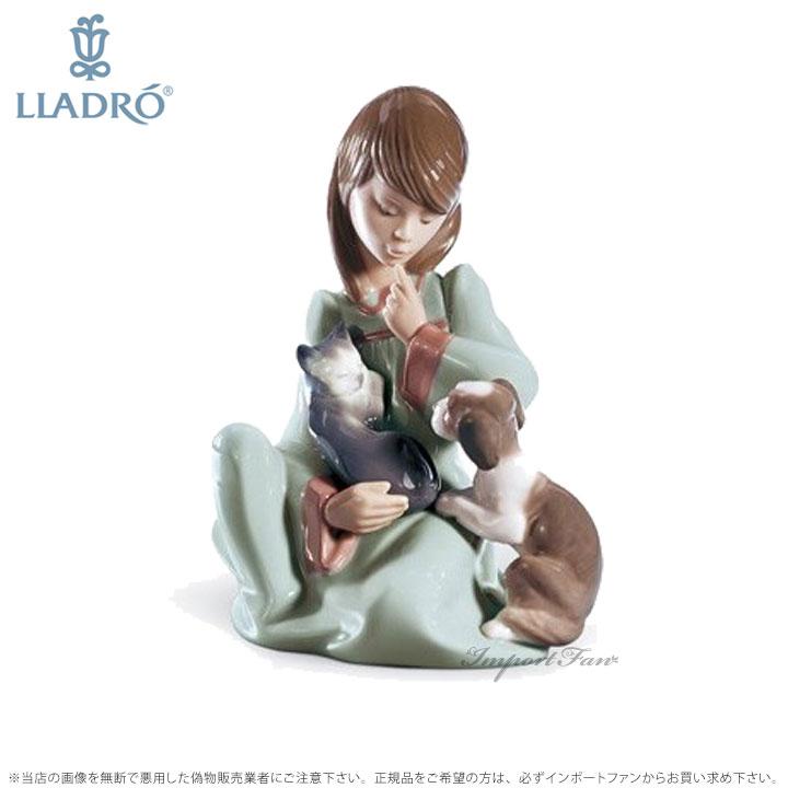 リヤドロ 猫の昼寝 ネコ 少女 05640 LLADRO porcelain childhood my pets 【ポイント最大44倍!お買い物マラソン セール】