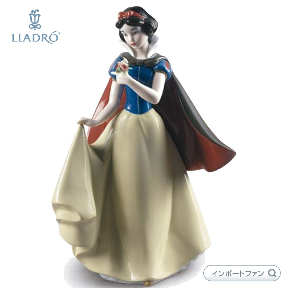 リヤドロ 白雪姫 01009320 LLADRO SNOW WHITE 【ポイント最大42倍!お買物マラソン】