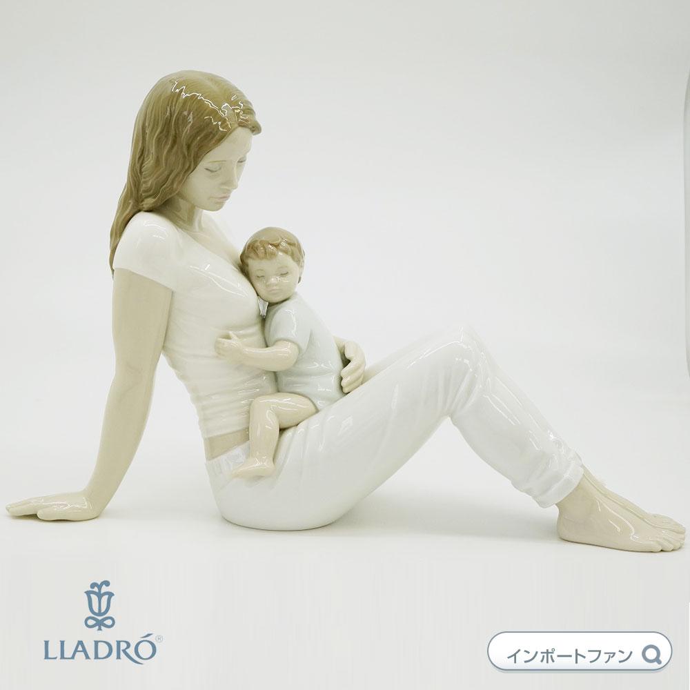リヤドロ かわいい我が子 01009336 LLADRO A MOTHER'S LOVE □
