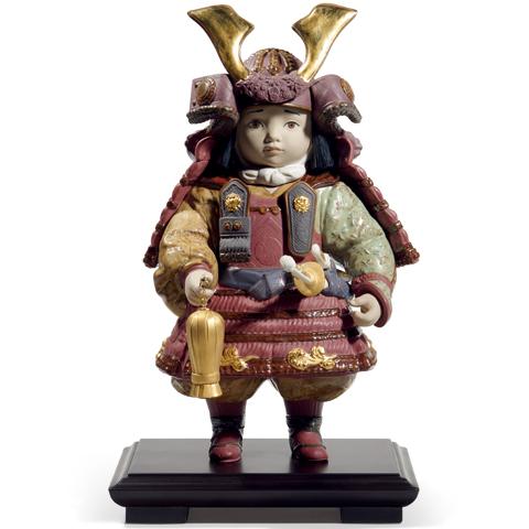 リヤドロ 若武者 60周年記念モデル 010013045 お手入れ簡単な五月人形 LLADRO 世界限定製作:3500体 【ポイント最大43倍!お買物マラソン】