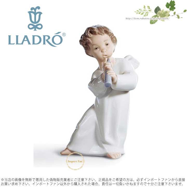 リヤドロ 可愛いフルート 01004540 LLADRO ANGEL WITH FLUTE 【ポイント最大42倍!お買物マラソン】